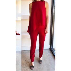 Blaque Label Red Jumpsuit
